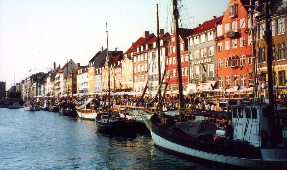 Boats in Copenhagen