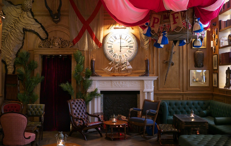 Mr Fogg Quirky Bar in London