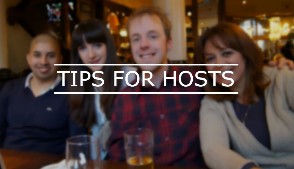 TIPS FOR HOSTS
