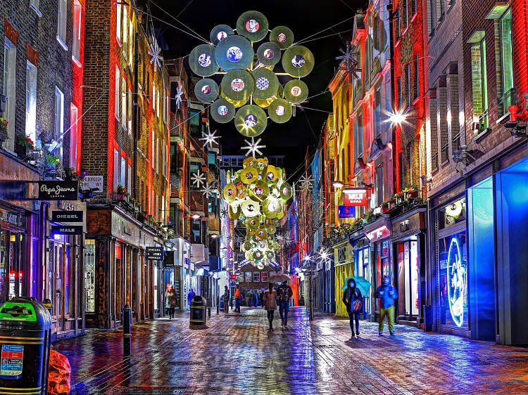 carnaby street christmas carnival